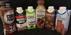 protein drink taste test