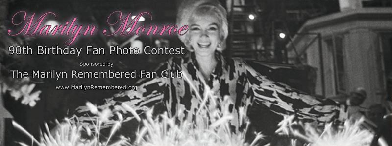 Enter the Marilyn Monroe 90th Birthday Fan Photo Contest!
