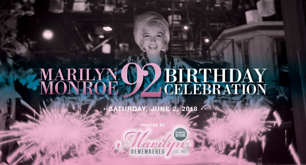 Marilyn Monroe 92nd Birthday Celebration