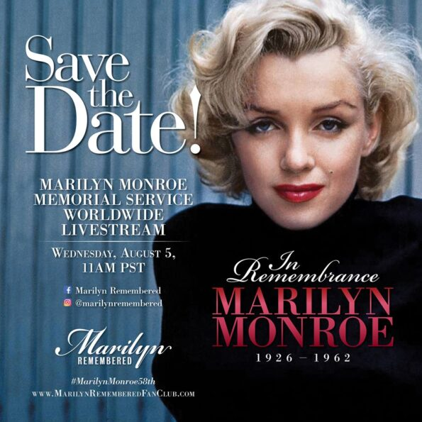 THE 2020 MARILYN MONROE MEMORIAL SERVICE
