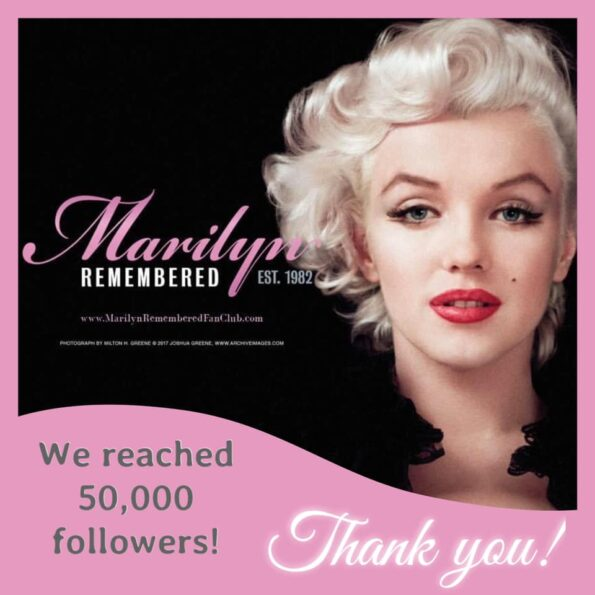 MARILYN REMEMBERED ON INSTAGRAM
