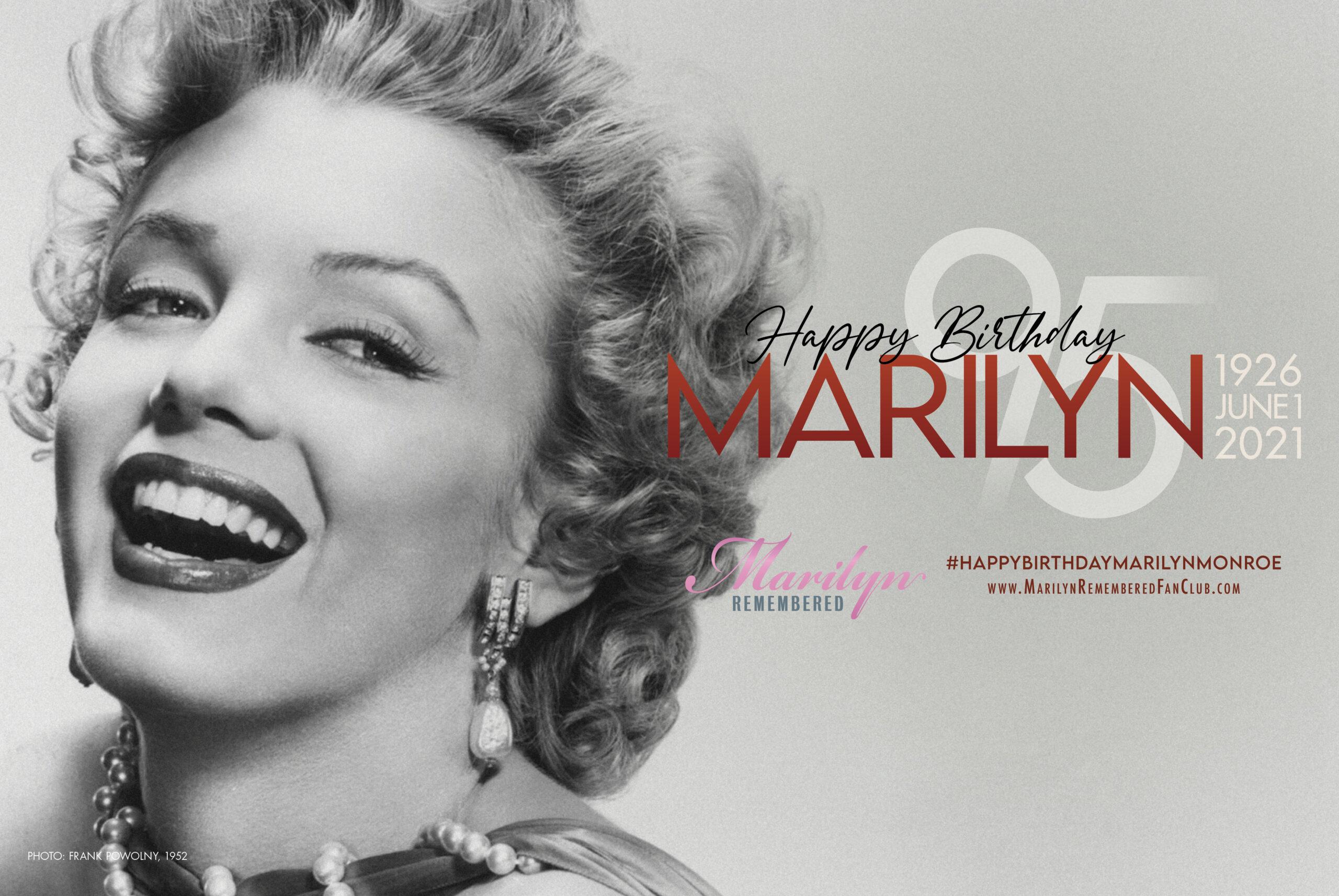 Happy 95th Birthday Marilyn Monroe