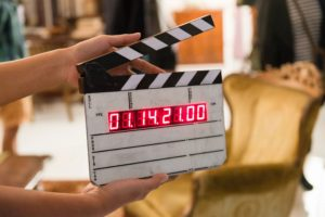 image of movie set counter