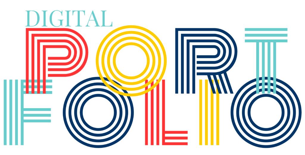online portfolio graphic