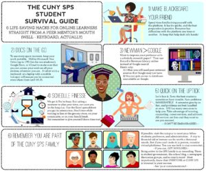 tips for online students infographic