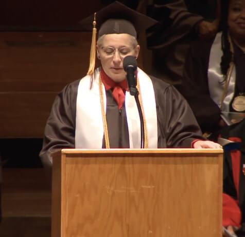 graduation student speaker Windy Nicely