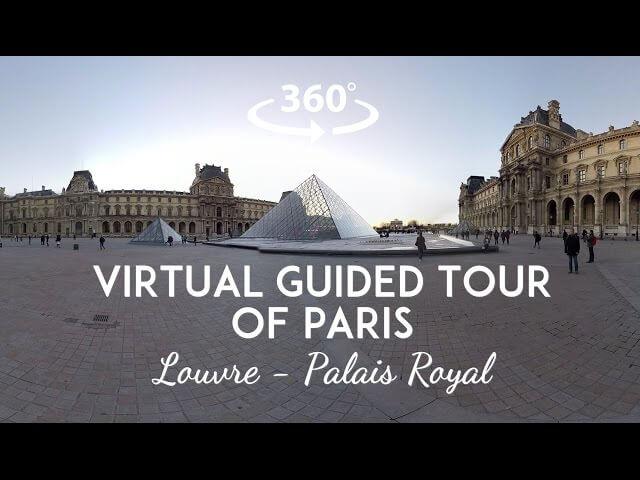 Virtual Guided Tour of Paris
