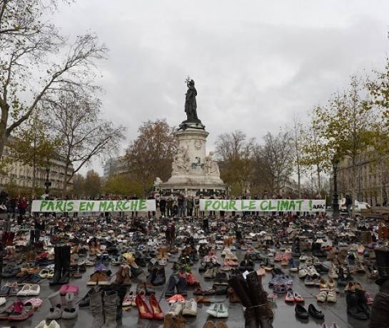 Paris-demonstration