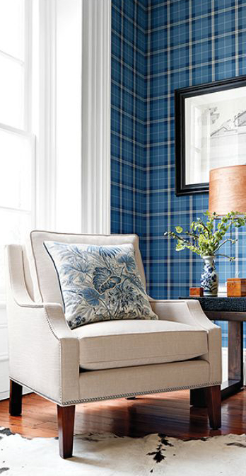 Thibaut Wallpaper & Fabrics: Menswear Resource: Plaid