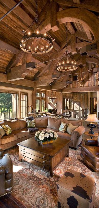 Bellegrey Interior Design | Lodge Style