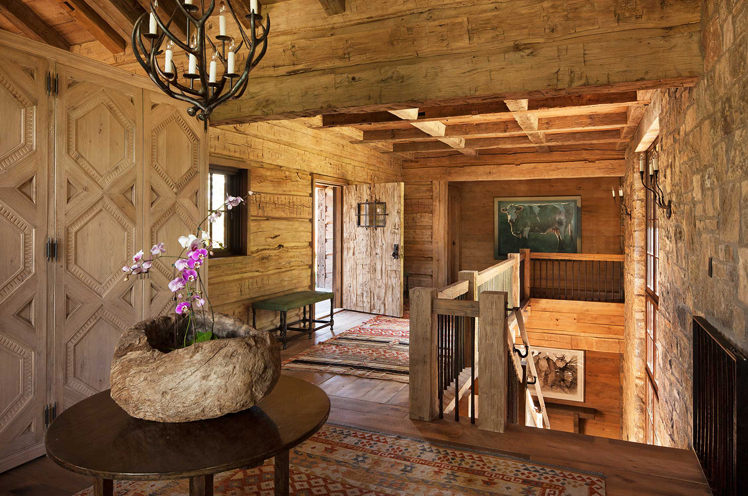 Log Home Decorating Ideas | Pearson Design Group