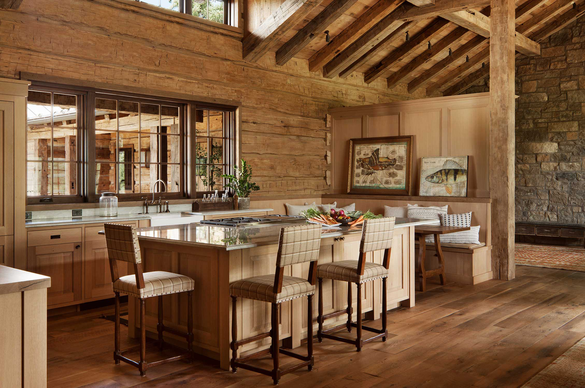Log Home Interiors | Pearson Design Group