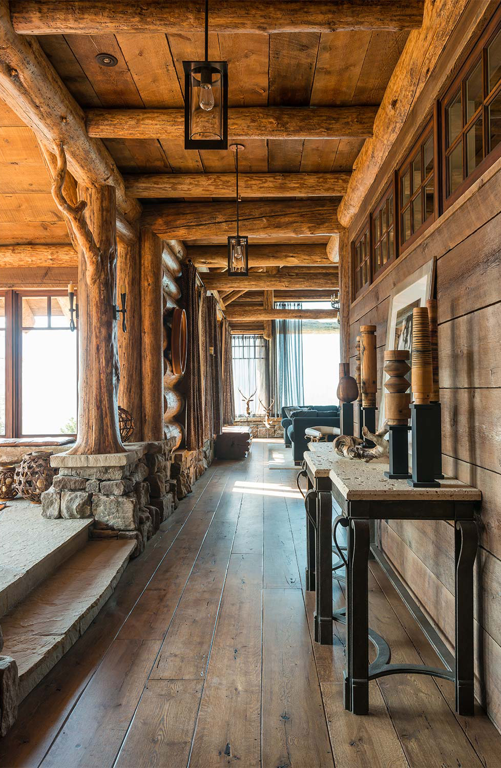 Log Homes Decorating Ideas | Pearson Design Group