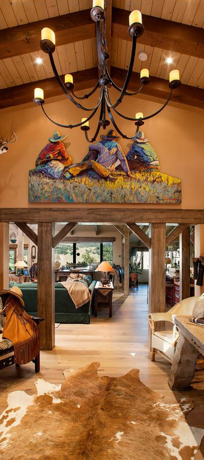 Cowboy Entranceway | Western & Southwestern Decorating Ideas