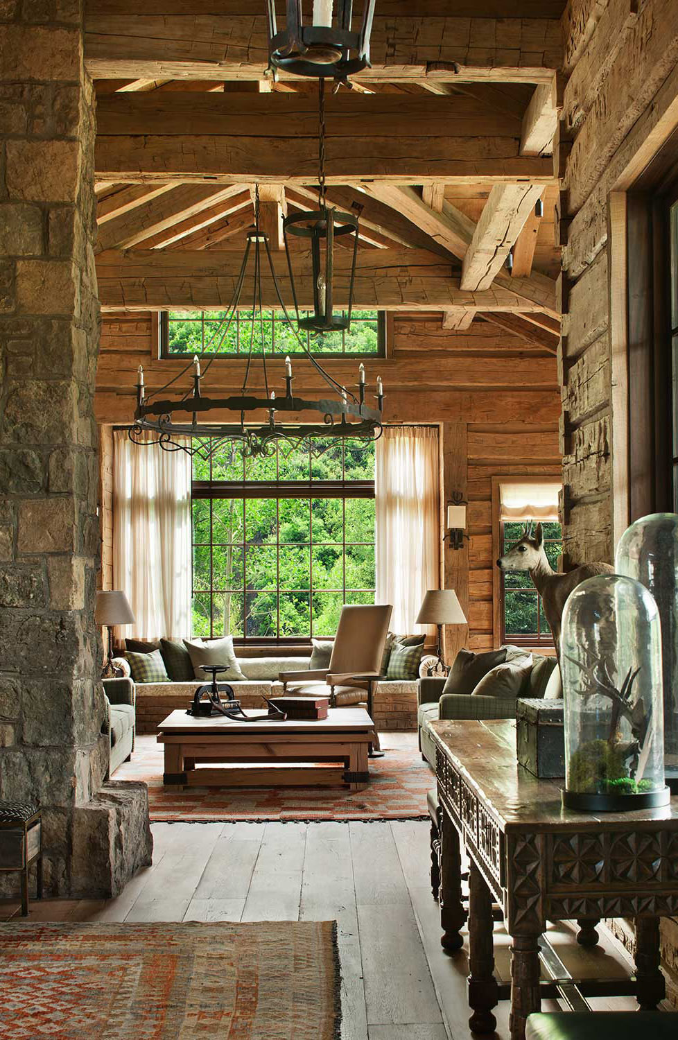 How to Decorate Log Homes | Pearson Design Group