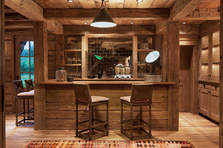 Log Homes | Home Bar Ideas | Pearson Design Group