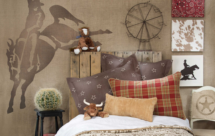 How to Create a Cowboy Theme Bedroom