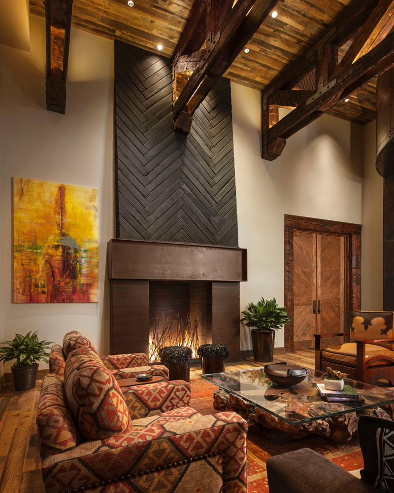 Southwestern Style Living Room | Southwestern Decorating Ideas