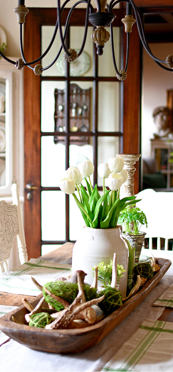 Rustic Spring Table Decor