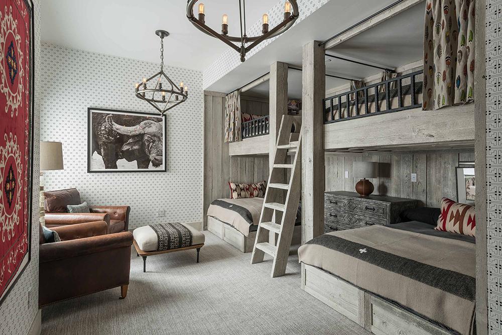 Locati Architects   Modern Rustic Bunkhouse