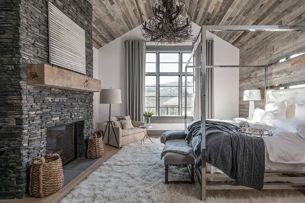 Locati Architects Rustic Bedroom