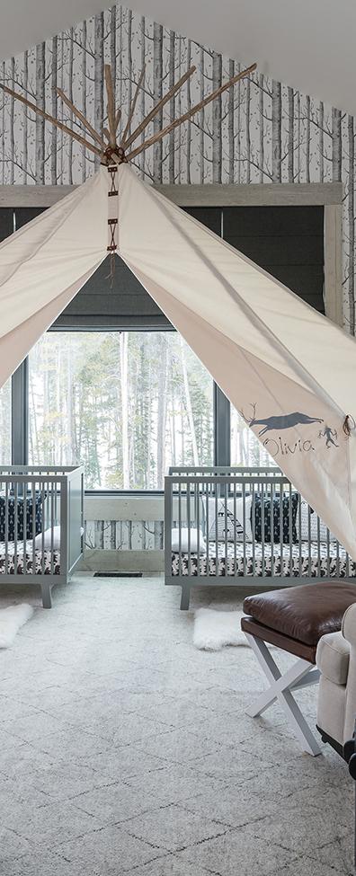 Locati Architects   Rustic Modern Nursery