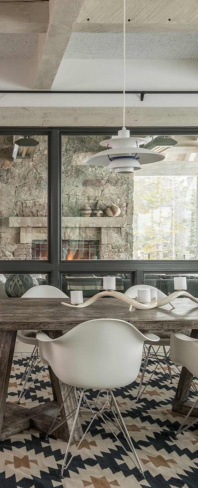 Locati Architects   Rustic Modern Dining Room Ideas