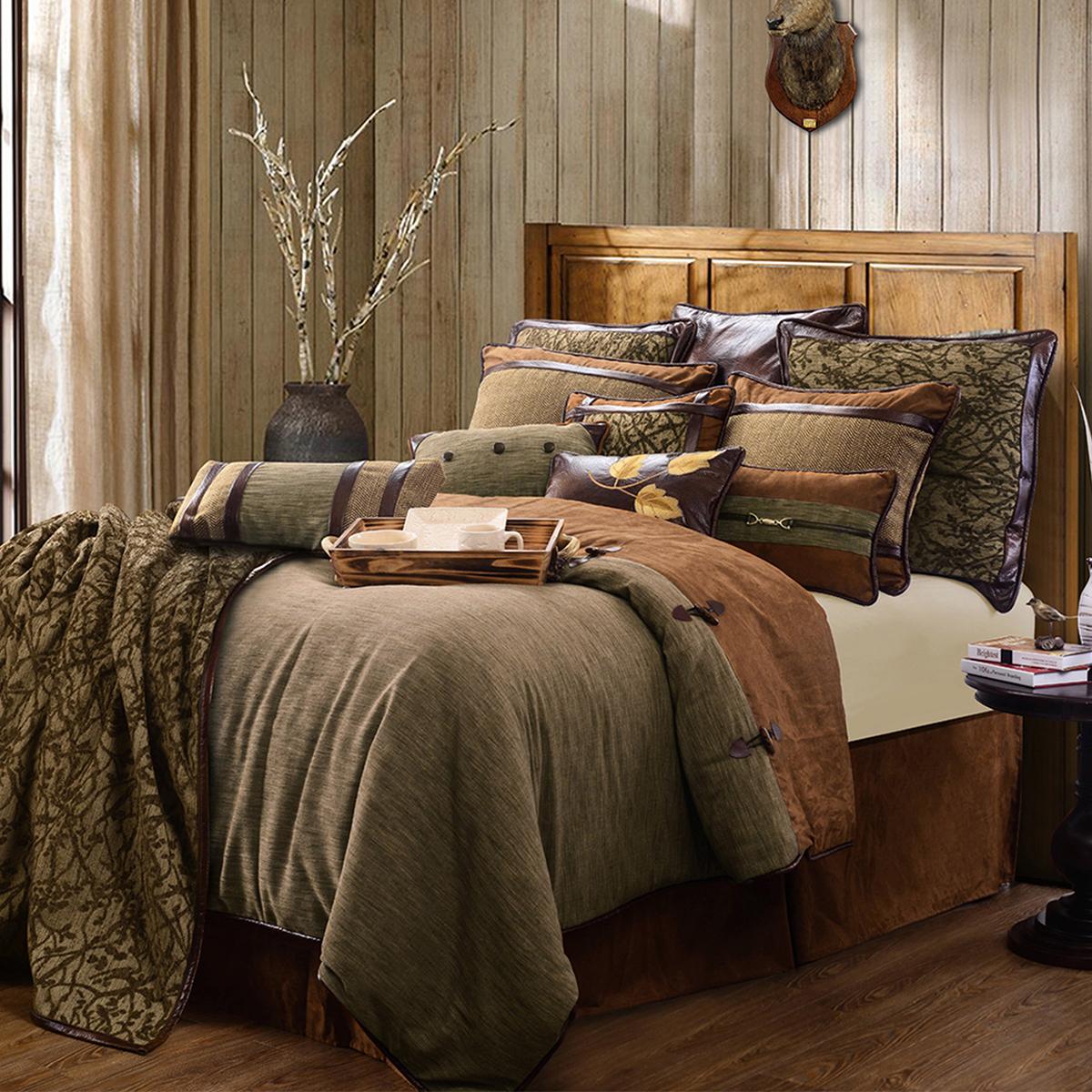 Rustic Earthtone Bedding