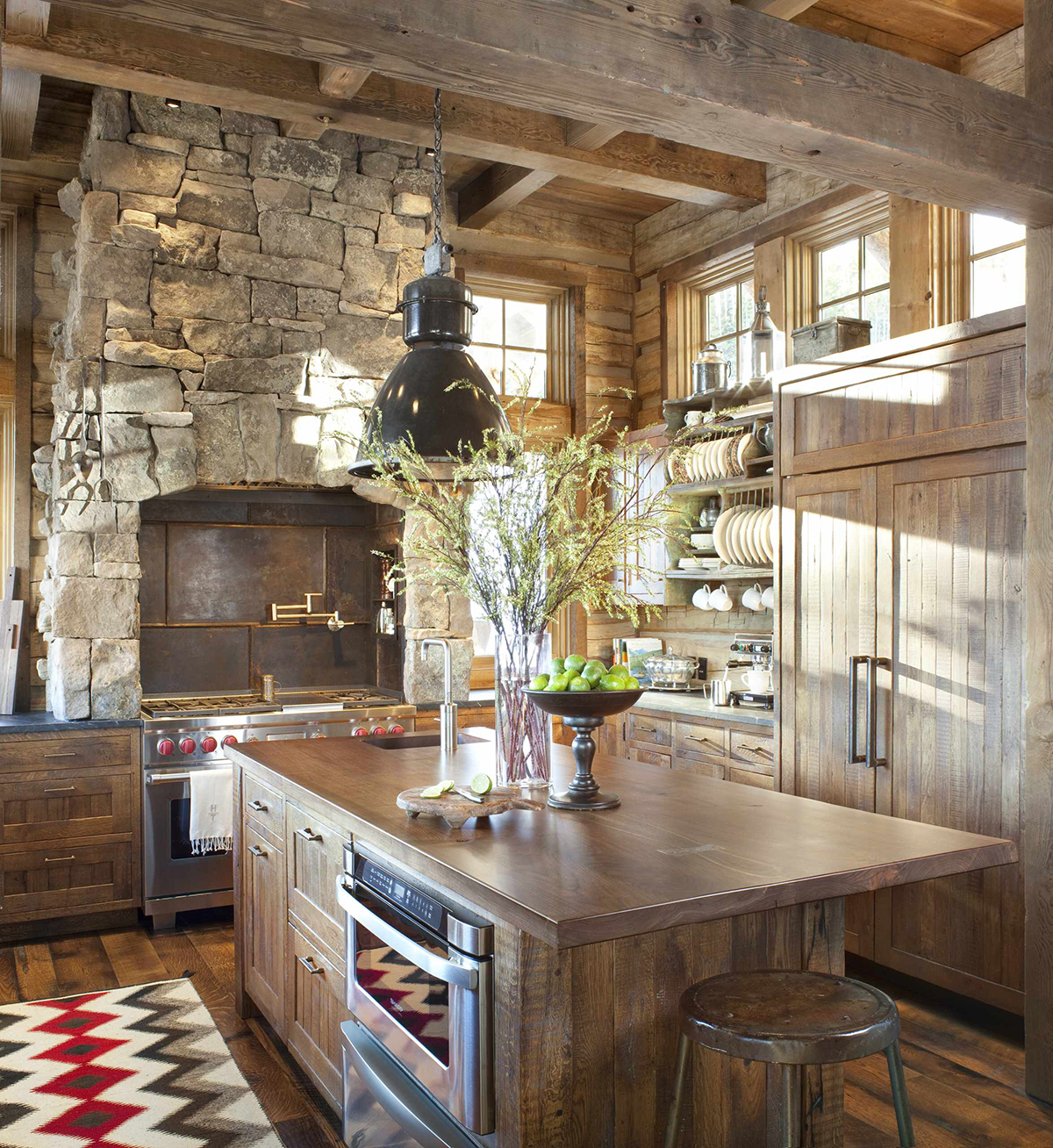 Rustic Kitchen Ideas | What is Rustic Design Style