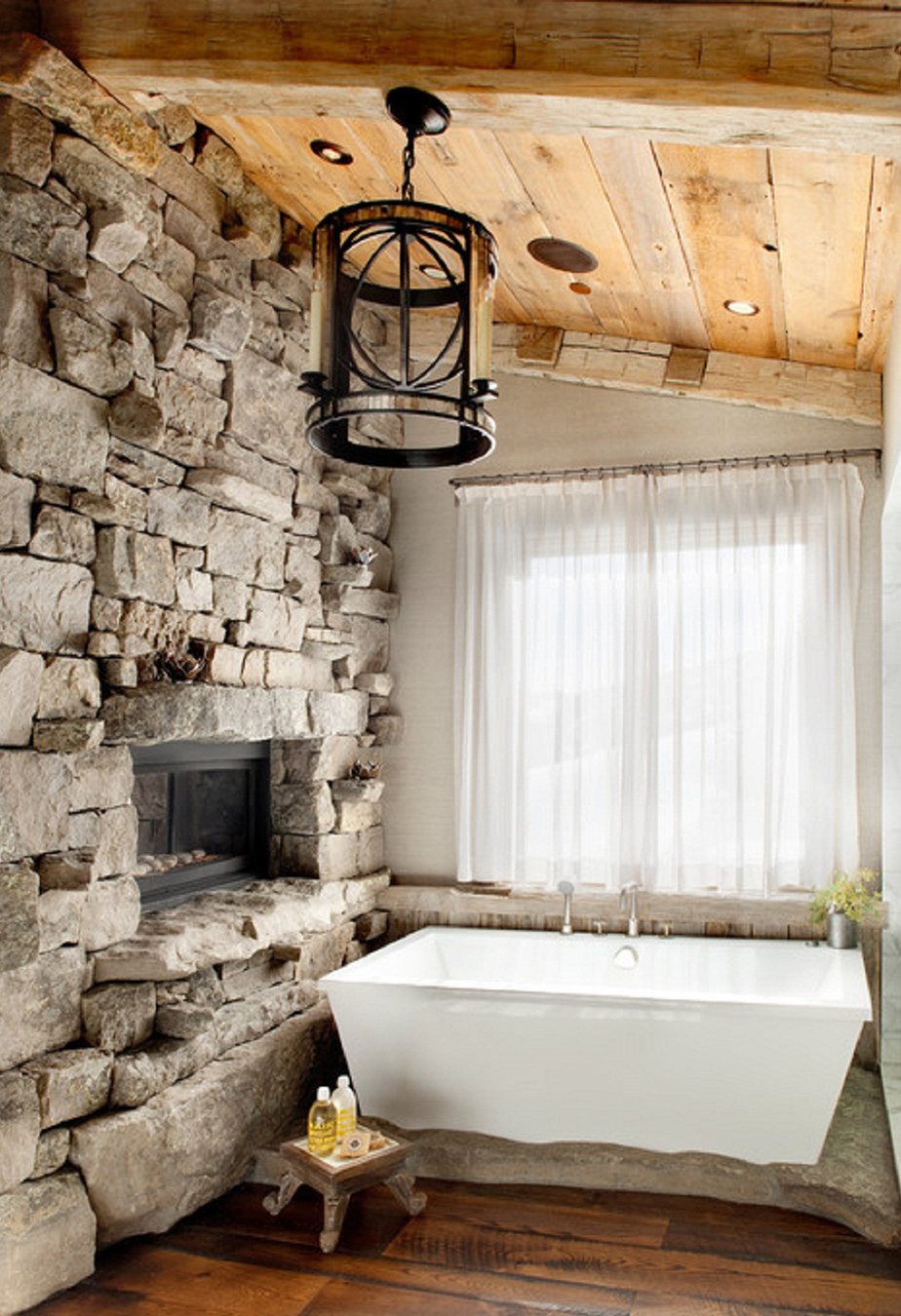 What is Rustic Style Design | Rough Hewn Beams