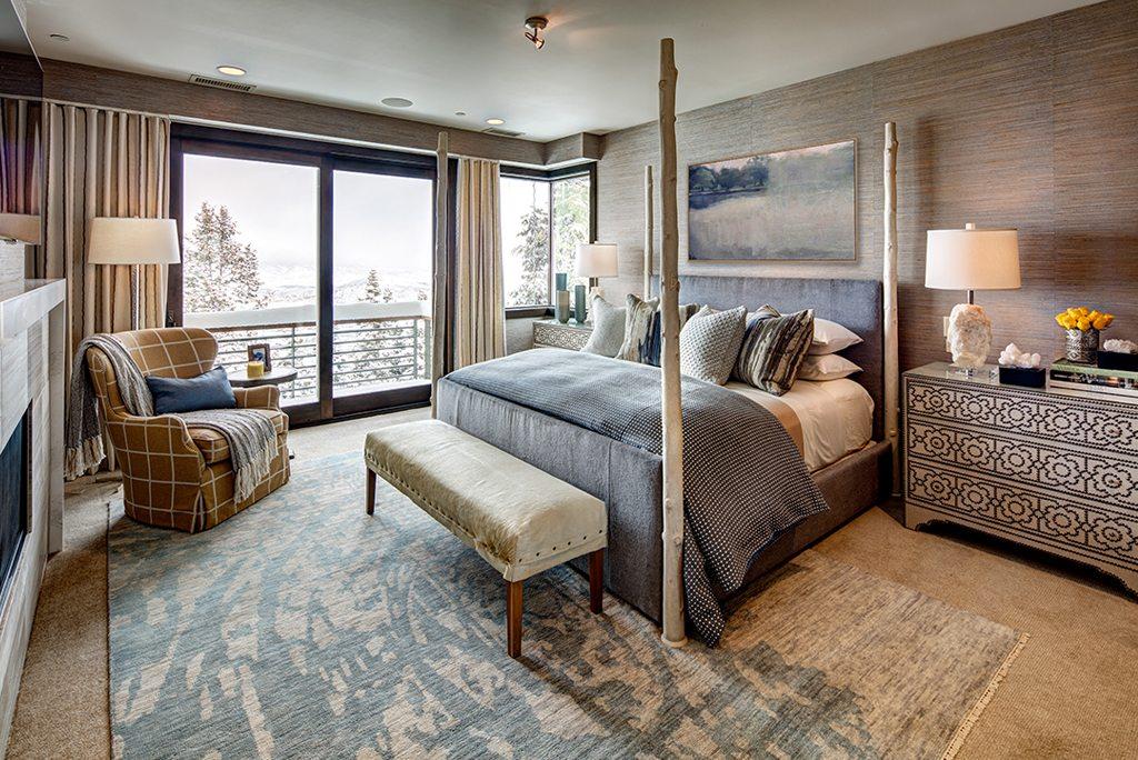 Rustic Modern Bedroom | Marc-Michaels Interior Design