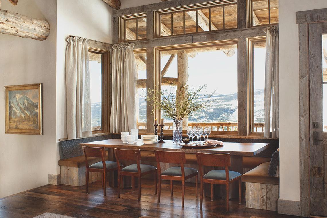 Rustic Home Designers   Peace Design   Rustic Dining Room