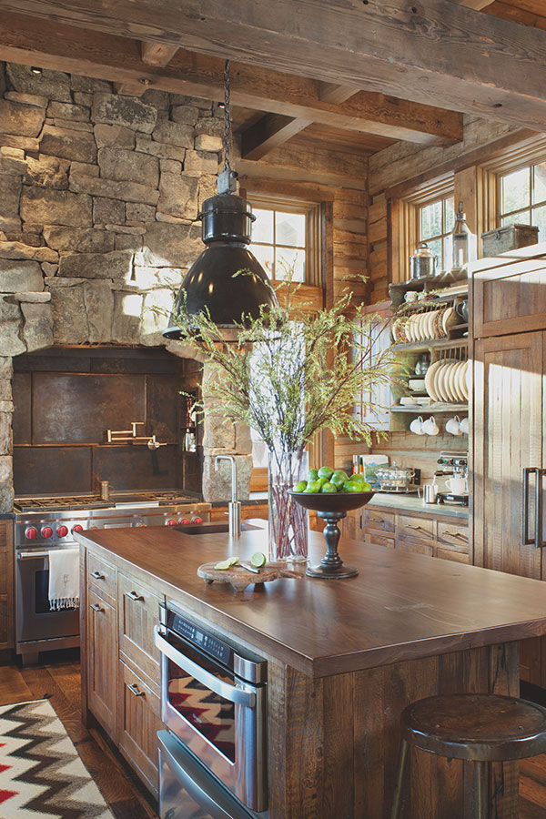 Rustic Kitchen   Peace Design