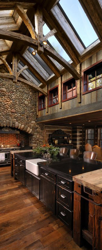 Lake Country Builders Lodge Kitchen