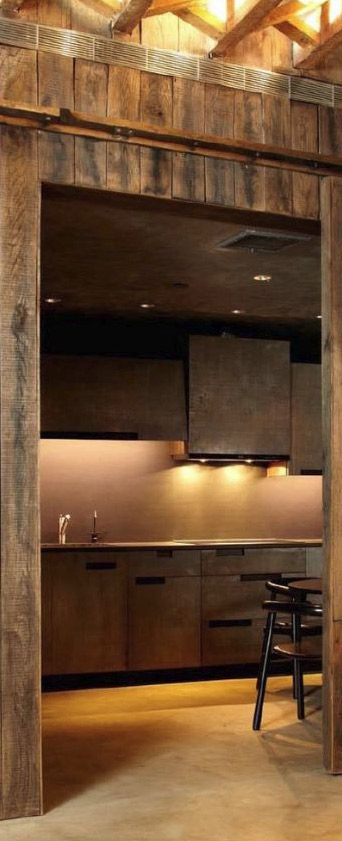 Narofsky Architecture   Rustic Industrial Kitchen