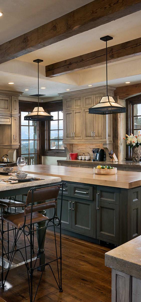 Locati Architects   Rustic Kitchen Ideas