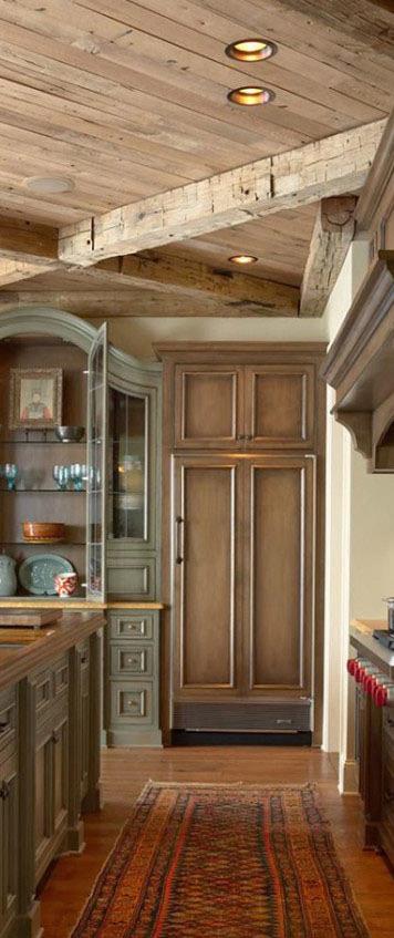 Elegant Modern Rustic Kitchen