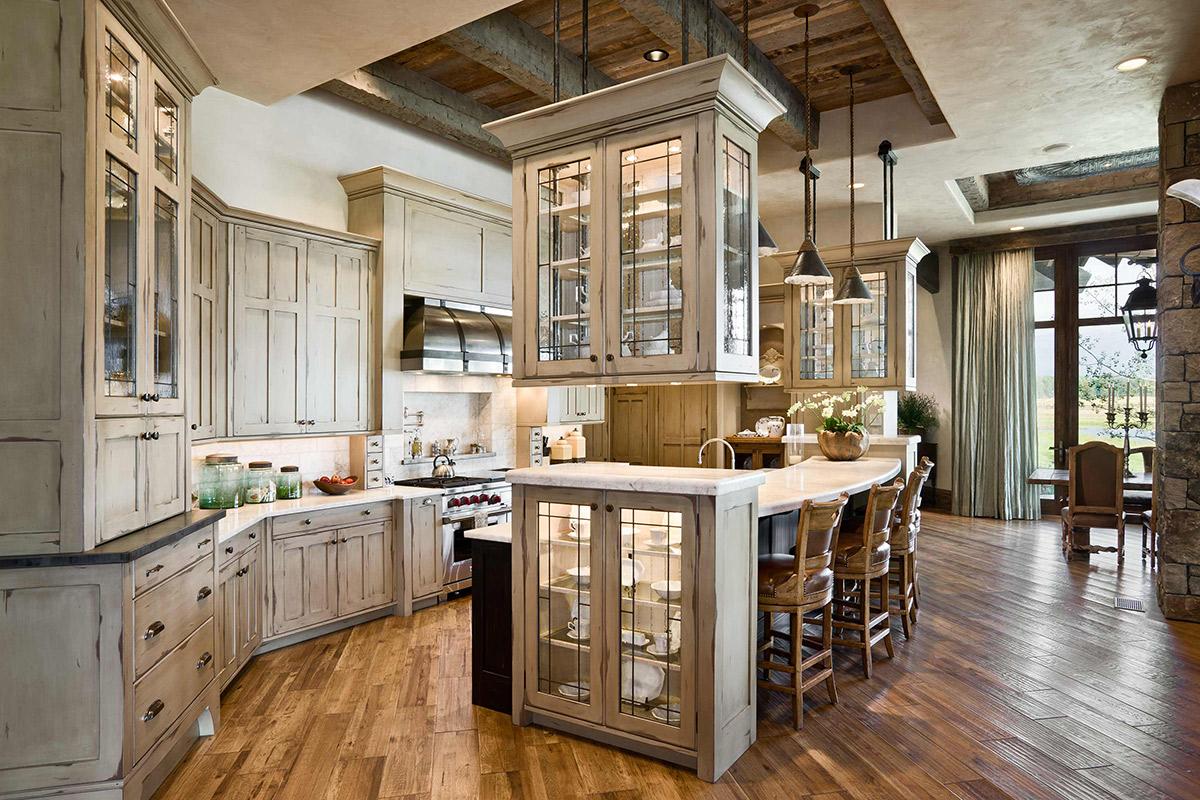 Locati Architects Rustic Farmhouse Kitchen