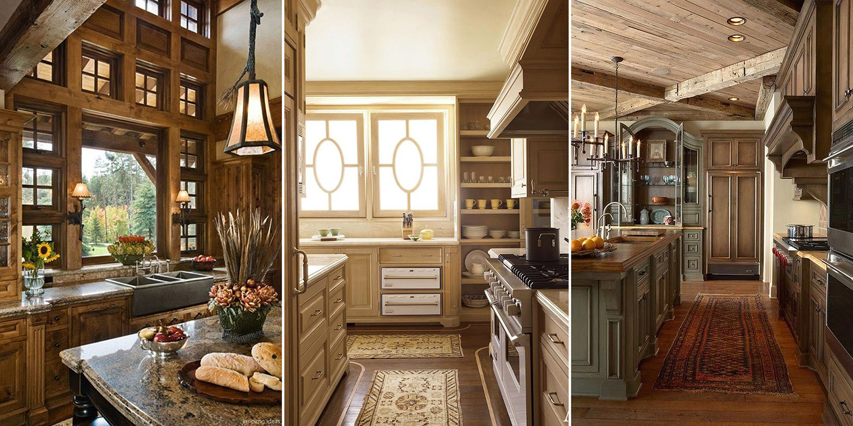Rustic Kitchens   Rustic Decorating Ideas