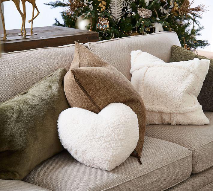 Faux Fur Alpaca Pillow Covers