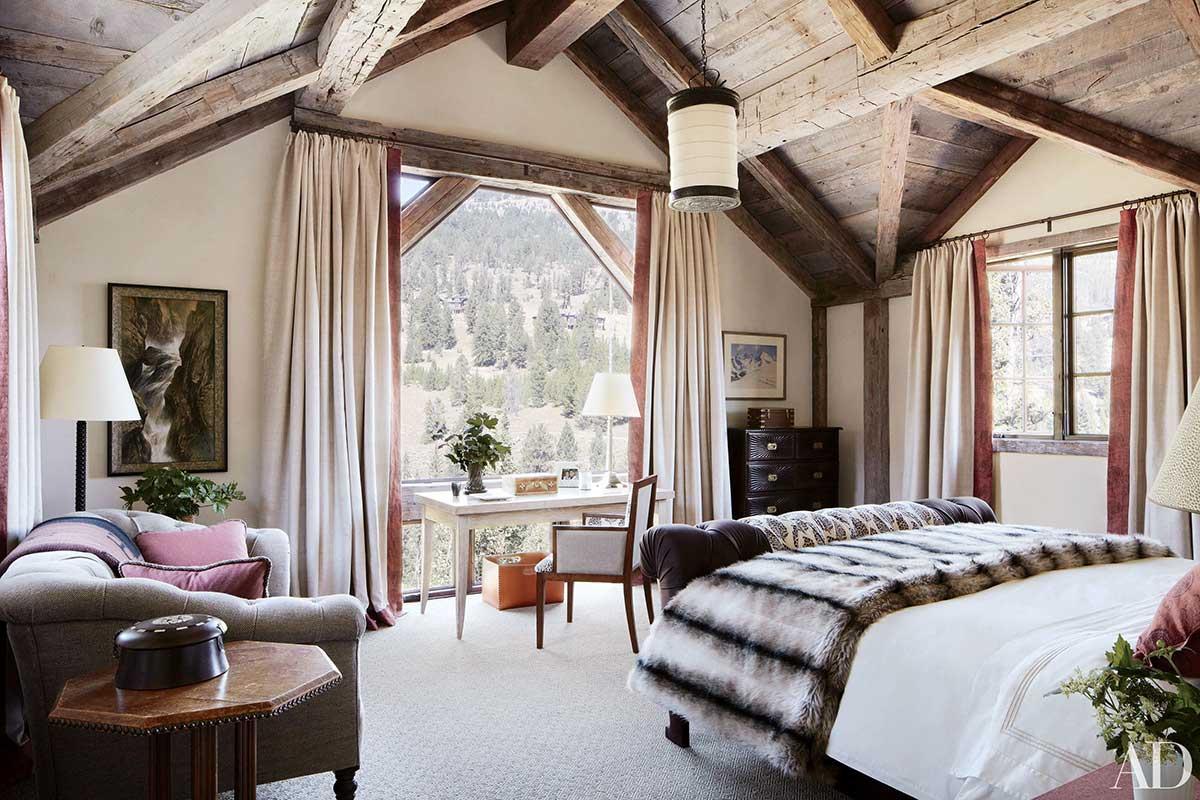 Rustic Bedroom by JLF & Associates