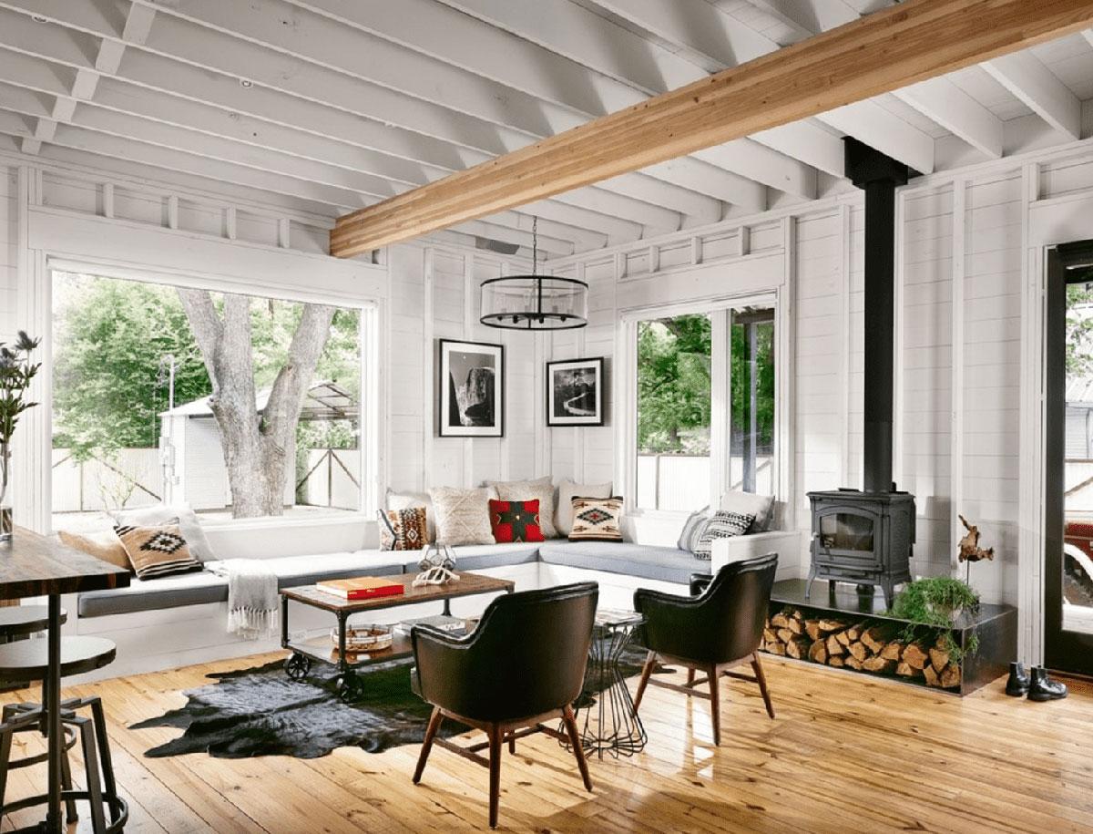 Elegant Farmhouse Living Room