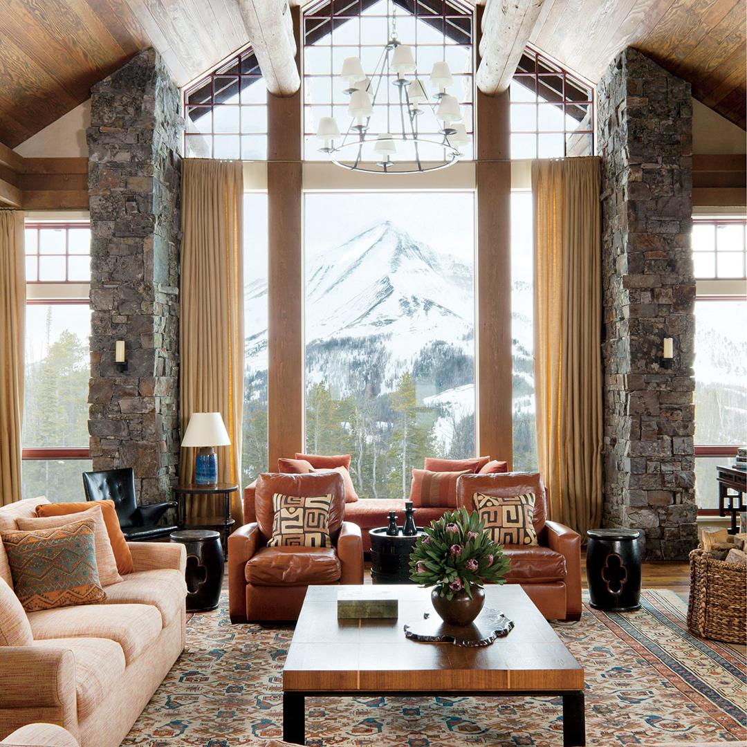 Furniture Arrangement in a Living Room