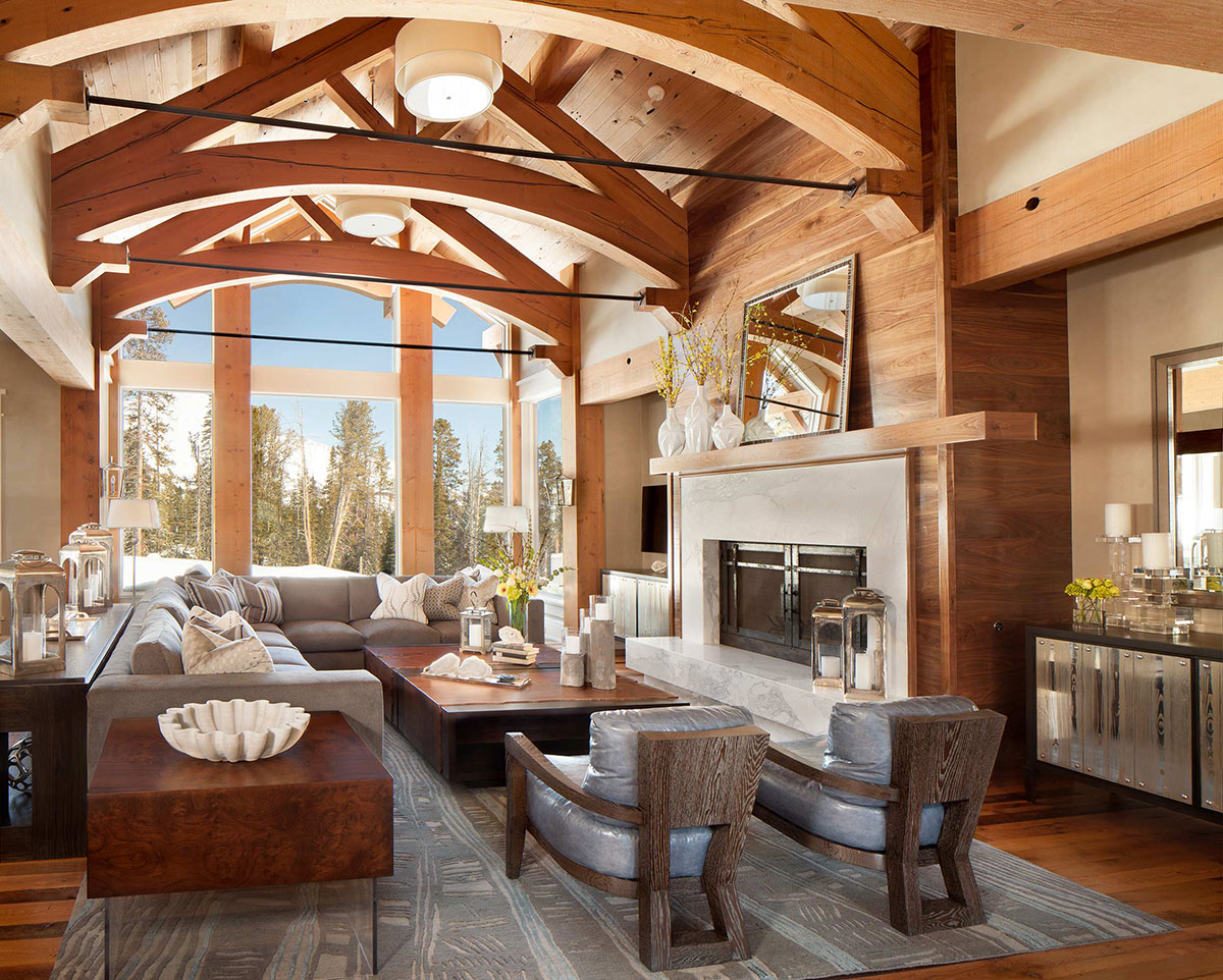 How to Design a Rustic Great Room