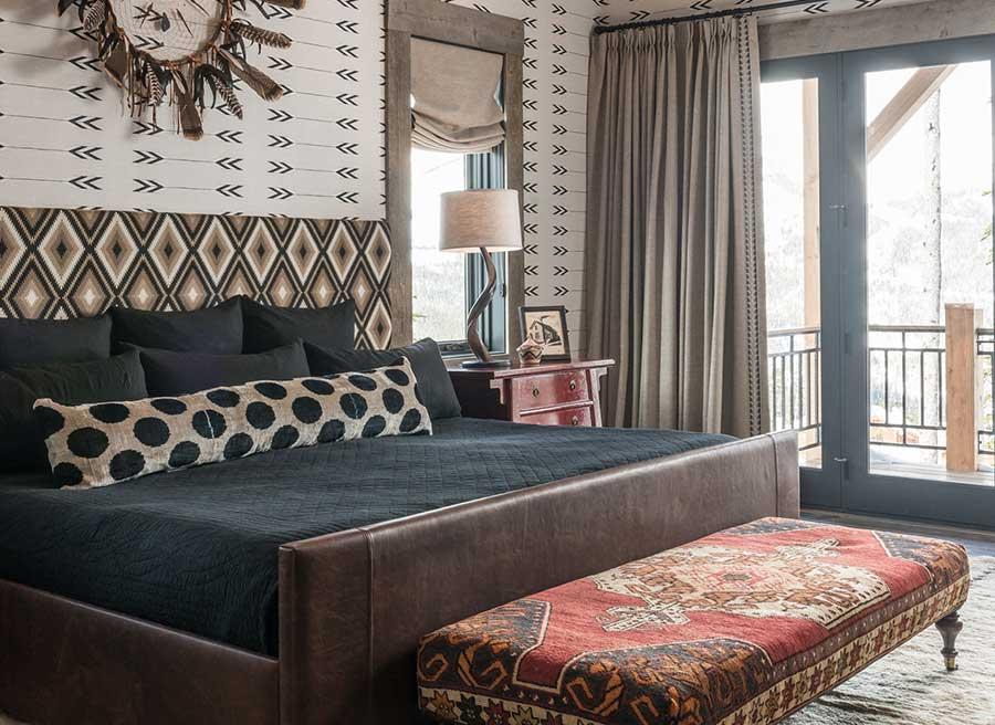 Modern Rustic Bedroom | Locati Architects