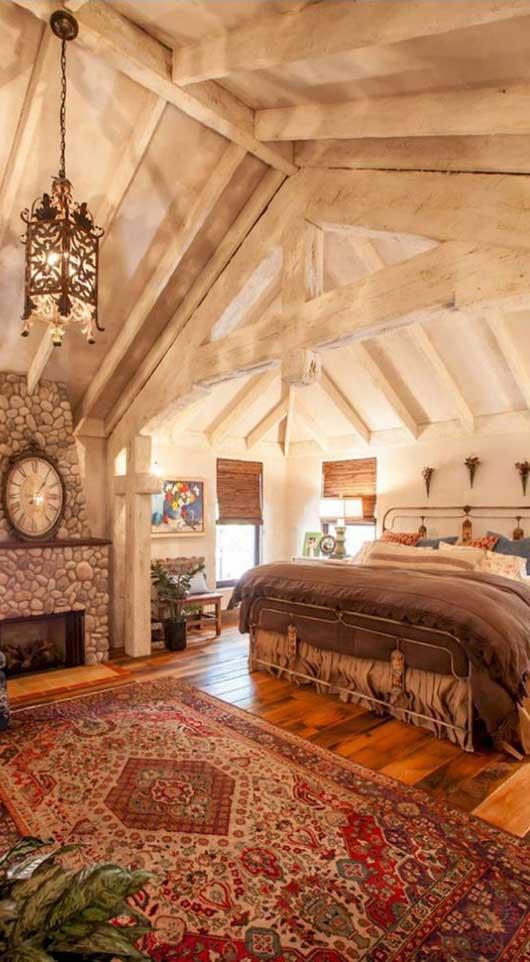 Rustic Bedroom | Key Residential