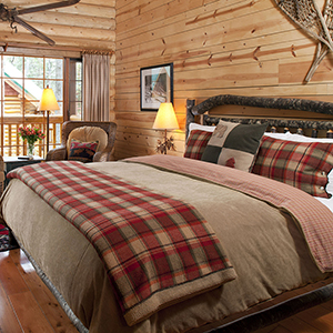Rustic Bedrooms & Decorating Ideas
