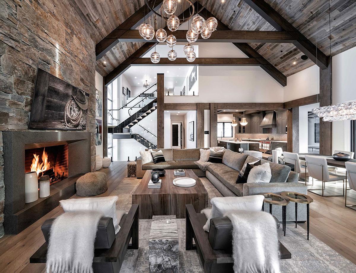 Rustic Living Room Design Ideas