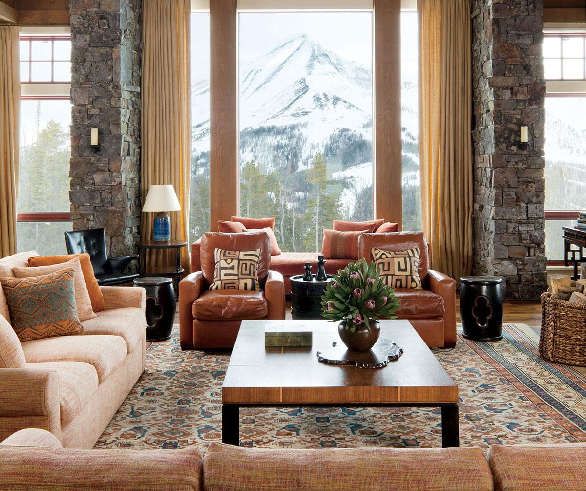 Rustic Living Rooms Design Ideas