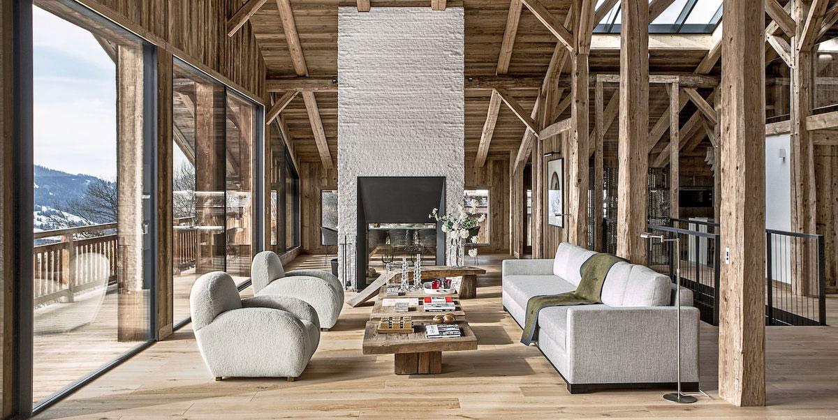 Rustic Living Rooms | Canadian Log Homes